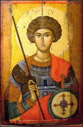 St George the Patron Saint of England.